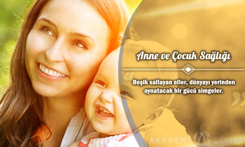 Anne ve Çocuk Sağlığı Ücretsiz Sertifikalı Eğitim