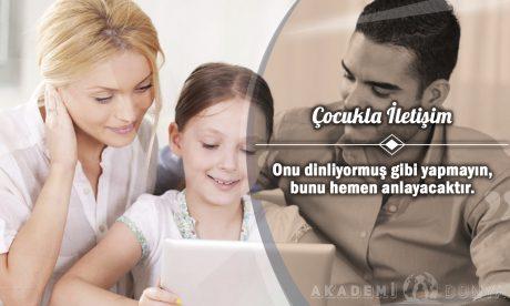 Çocukla İletişim Ücretsiz Sertifikalı Eğitim