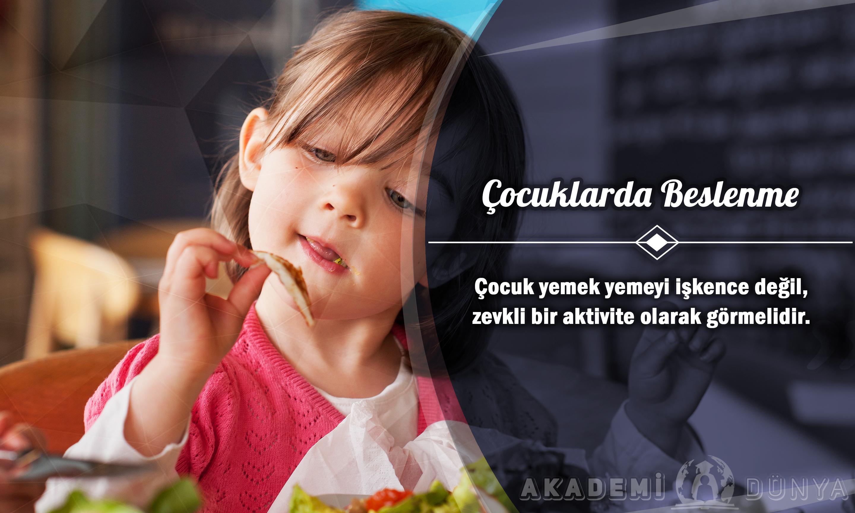 Çocuklarda Beslenme Ücretsiz Sertifikalı Eğitim