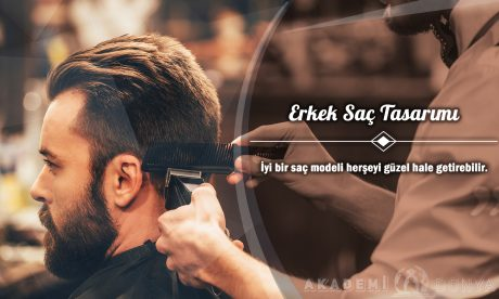 Erkek Saç Tasarımı Ücretsiz Sertifikalı Eğitim