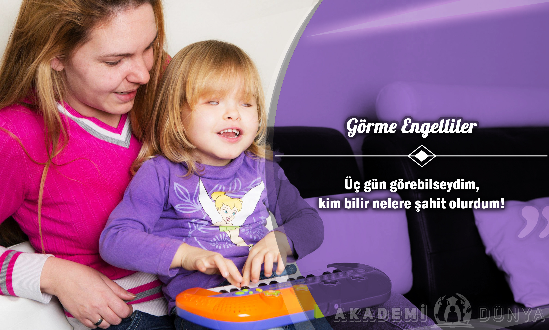 Görme Engelliler Ücretsiz Sertifikalı Eğitim