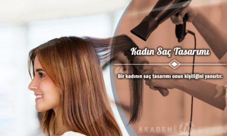Kadın Saç Tasarımı Ücretsiz Sertifikalı Eğitim