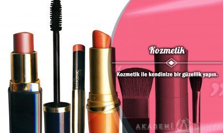 Kozmetik Ücretsiz Sertifikalı Eğitim