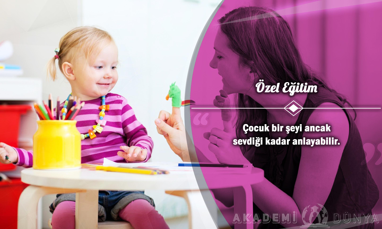 Özel Eğitim Ücretsiz Sertifikalı Eğitim