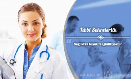 Tıbbi Sekreterlik Ücretsiz Sertifikalı Eğitim