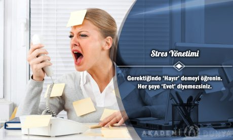 Stres Yönetimi Ücretsiz Sertifikalı Eğitim
