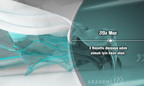 3Ds Max Ücretsiz Sertifikalı Eğitim