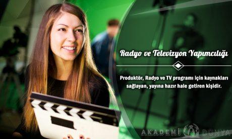 Radyo ve TV Yapımcılığı Ücretsiz Sertifikalı Eğitim