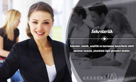 Sekreterlik Ücretsiz Sertifikalı Eğitim
