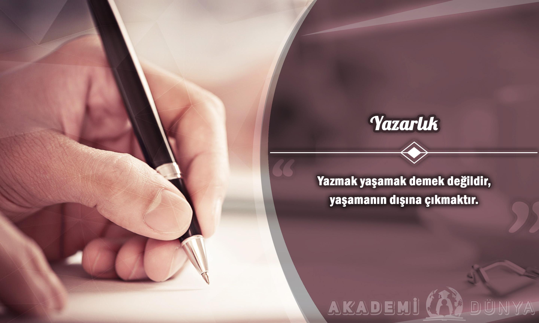 Yazarlık Ücretsiz Sertifikalı Eğitim