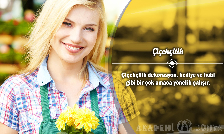 Çiçekçilik Ücretsiz Sertifikalı Eğitim