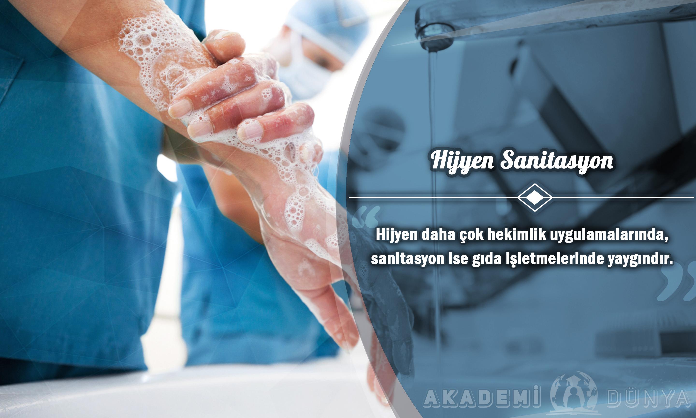 Hijyen Ve Sanitasyon Ücretsiz Sertifikalı Eğitim