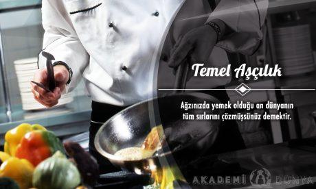 Temel Aşçılık Ücretsiz Sertifikalı Eğitim