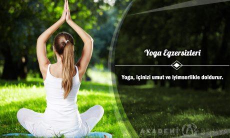 Yoga Egzersizleri Ücretsiz Sertifikalı Eğitim