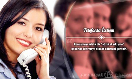 Telefonla İletişim Ücretsiz Sertifikalı Eğitim