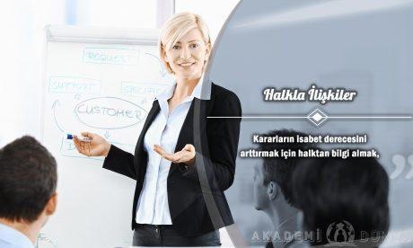Halkla İlişkiler Ücretsiz Sertifikalı Eğitim